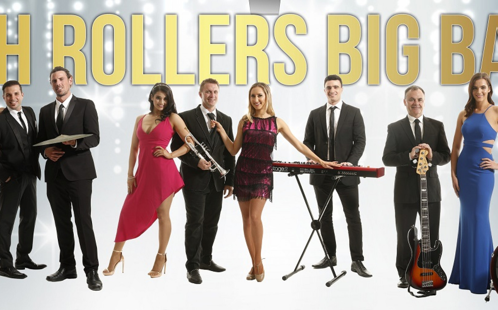 Sydney Bands for Hire | Cover Bands | Weddings | Events - High Rollers Big Band